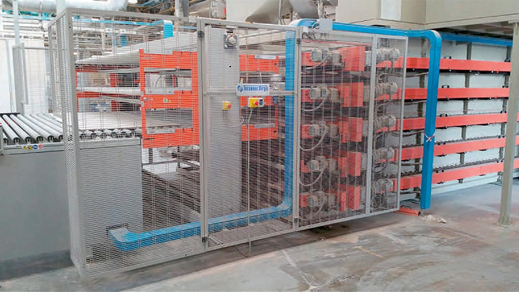 EL3P/OUT – Three-level elevator for unloading horizontal dryers