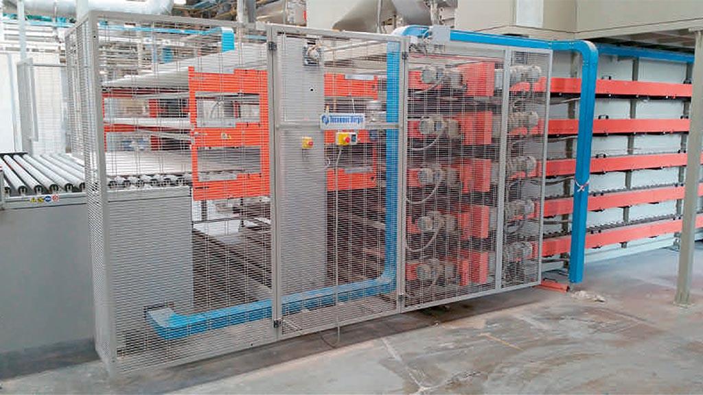 EL3P/OUT – Elevatore a tre piani per scarico essiccatoio orizzontale