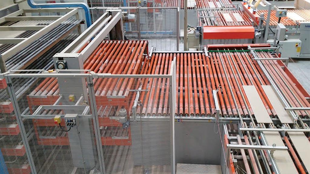 EL3P/IN – Elevatore a tre piani per carico essiccatoio orizzontale