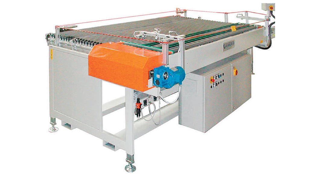 MCE/PT – Macchina di carico essiccatoio orizzontale a rulli
