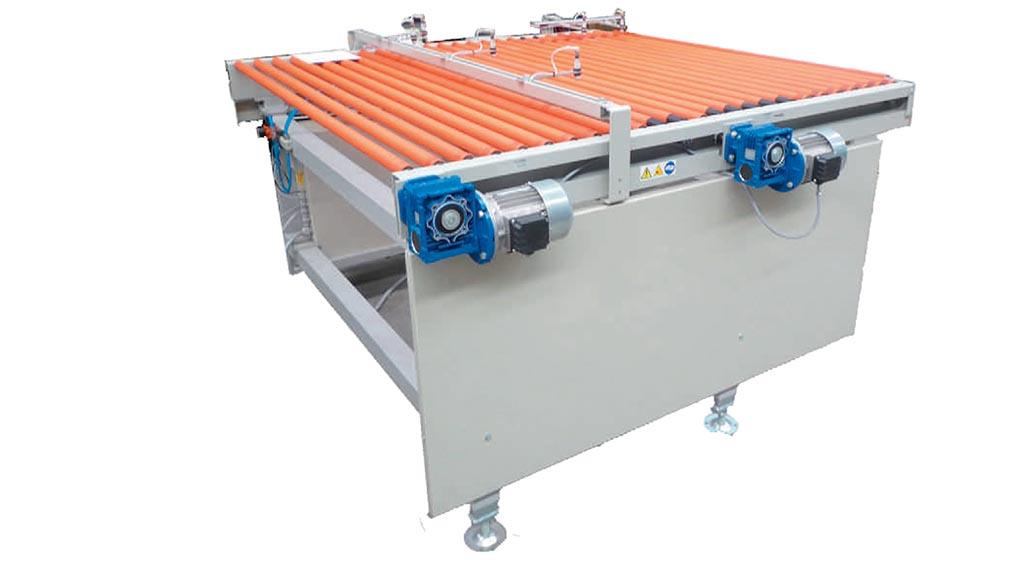 MCE/ R – Loading machine for vertical roller dryers.