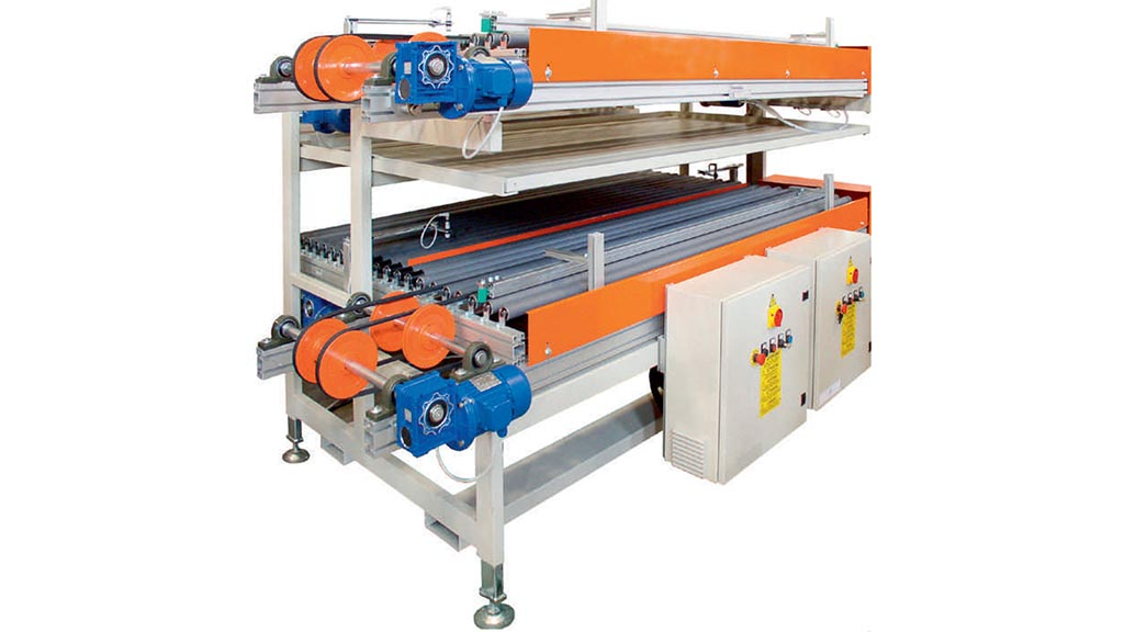 MCEB/PT – Machine for loading two-channel dryers