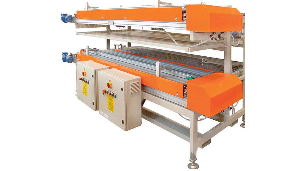 RSEB/PT – Machine for unloading two-channel dryers