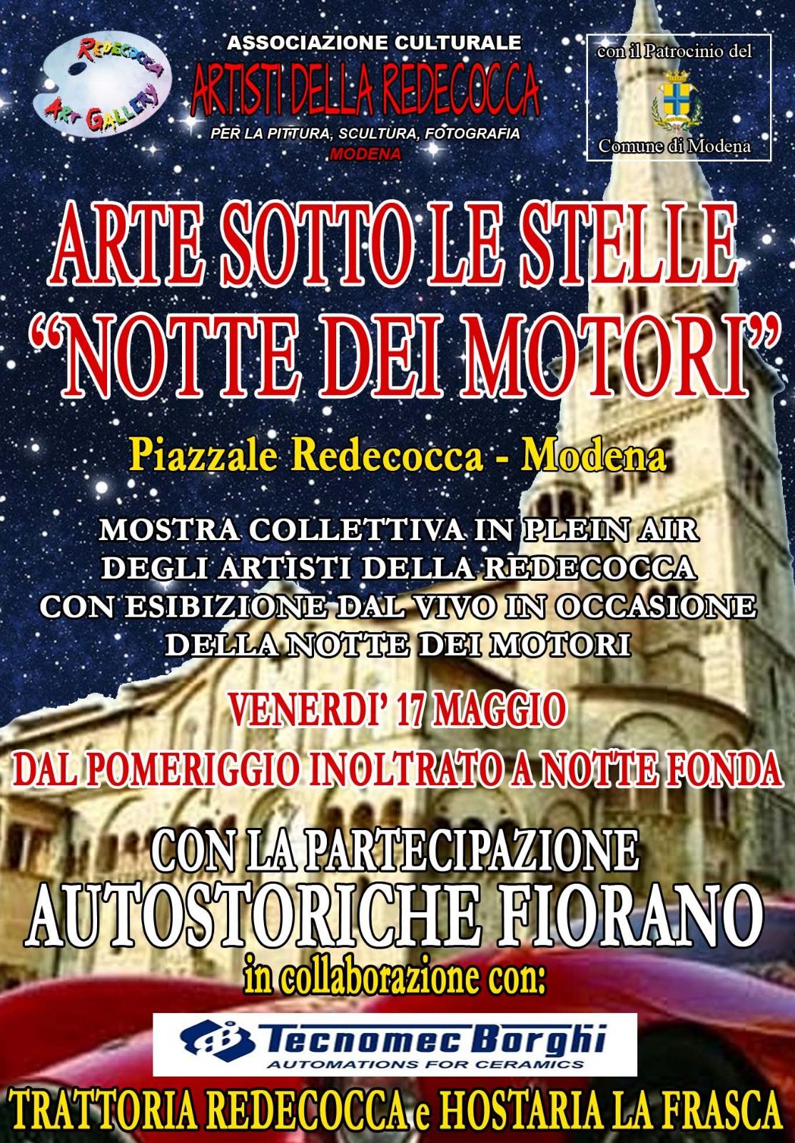 Venerdì 17 Maggio 2019 – Piazzale Redecocca, Modena (MO)